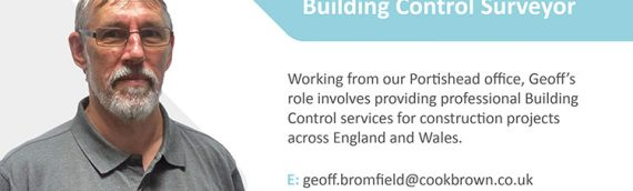 Introducing our new Building Control Surveyor, Geoff Bromfield