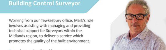 Welcome new Senior Building Control Surveyor, Mark Saunders