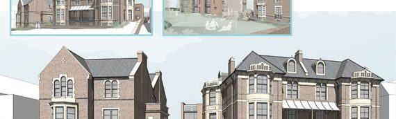 Transformation of Victorian Buildings into luxury sea-view apartments in North Somerset