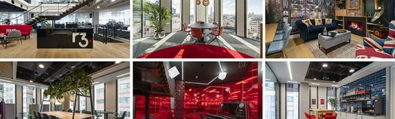 Inspiring workplace with views across London
