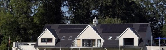 Falkland Cricket Club welcome brand-new pavilion